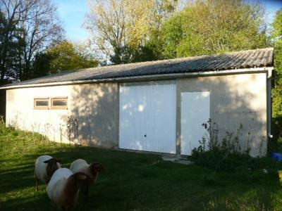 Terrain et garage