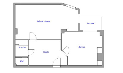Bureaux 50m² Neuilly Centre