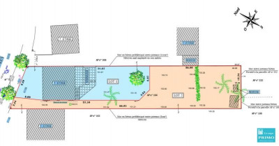 Terrain constructible ANTONY - 424 m²