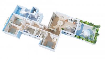 Appartement T4 - 127.40m²