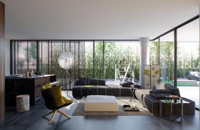 Appartement 3 pièces de 65m² avec terrasse et jardin