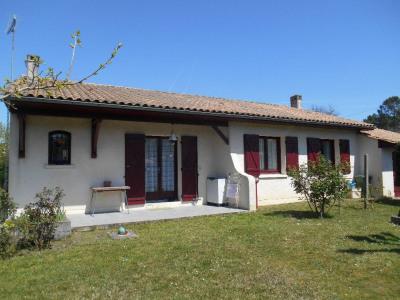 Secteur CABANAC, maison de plain pied de 115 m² sur 1648 m² jardin