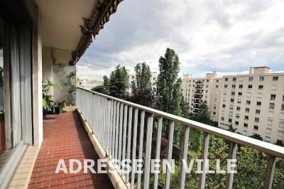 3 pièces avec large balcon sur jardin sud-ouest