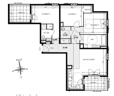 Vente appartement Brignais