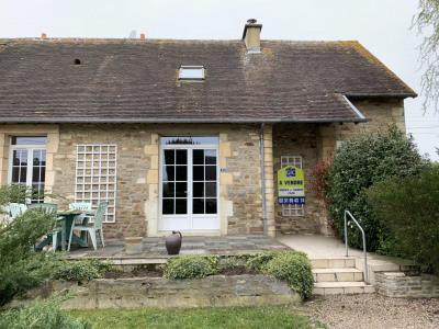 Entre Caen et Falaise maison en pierre à vendre
