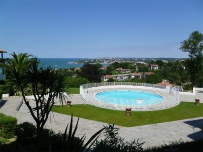 T4 ciboure vue mer piscine