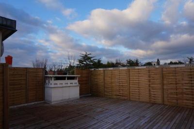 2 pièces terrasse 60m²