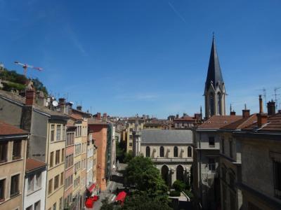 Lyon 5, rue St Georges, T1 avec très belle vue