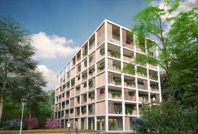 2 pièces illkirch graffenstaden - 2 pièce (s) - 48.09 m²