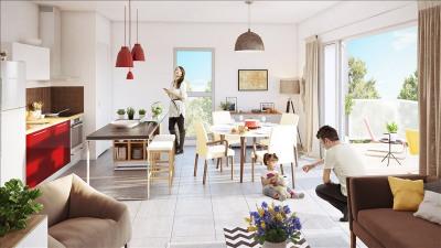Appartement parempuyre - 3 pièce (s) - 63.34 m²