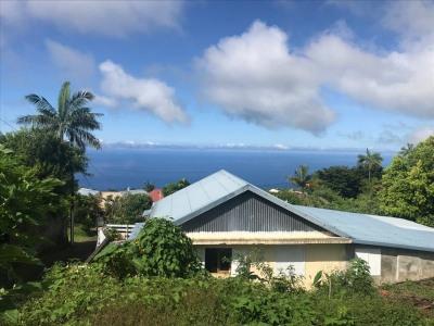 Petite-île maison de plain-pied avec aperçu mer