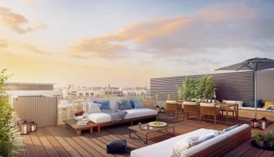 Duplex T5 avec terrasse de 122m² au 7ème