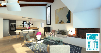 Maison d'architecte 130 m², 3 chambres, calme et verdure