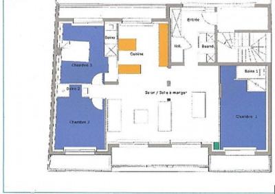 Appartement 5 pièce (s) 113.5 m²