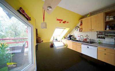 ANNECY- Lumineux Duplex 4 pièces en dernier étage avec garage