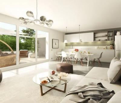 Appartement - 2 pièce (s) 41.02 m²