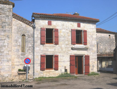 Maison de village laugnac - 4 pièce (s) - 93.36 m²