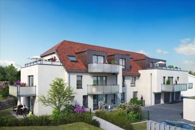 Ingersheim - 3 pièce (s) - 64 m²