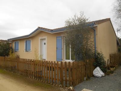 Maison récente de 90m² sur 410m² de terrain au calme