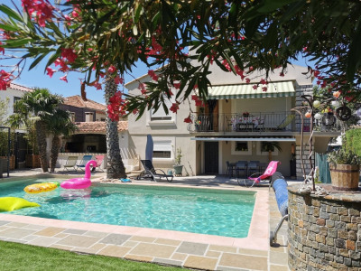 Gignac la nerthe - Villa T1 + T3 - piscine -garage