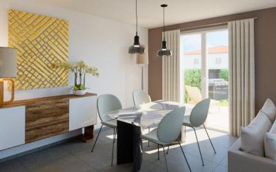 T2 neuf 47 m² lardenne