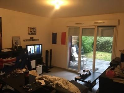 Appartement T3 avec parking et terrasse sur jardin