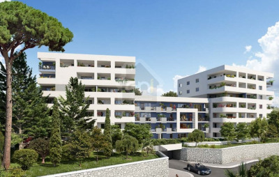 Appartement T3 de 60m² avec une terrasse de 9m² et parking M