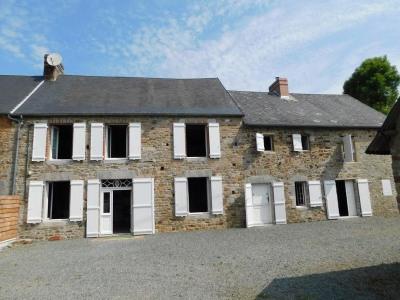 Maison en pierre-3 chambres-Dépendances et jardin