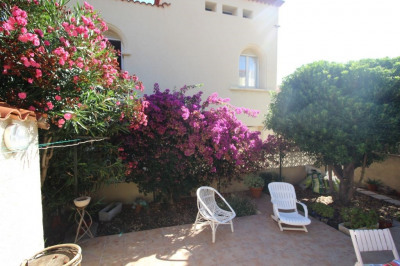 PORT-VENDRES appartement 4 FACES, jardin, cave, 102M²
