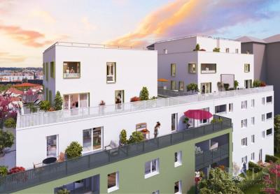 Villeurbanne - Contempary Apartment T2 with 45.60 sqm - One bedr