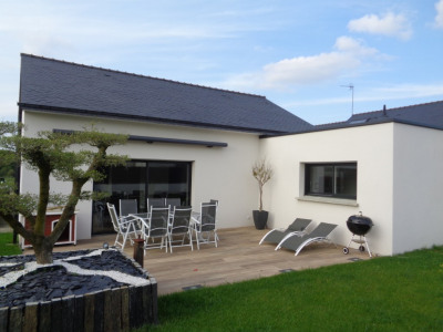Maison Plain pied Questembert 125 m² hab 4 Chambres