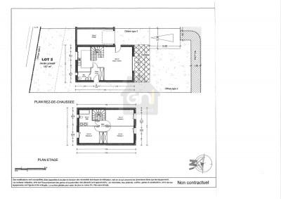 Villa T4 d'environ 90 m²