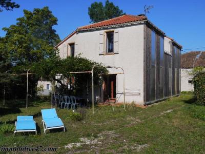 Maison d'habitation laugnac - 5 pièces - 125 m²