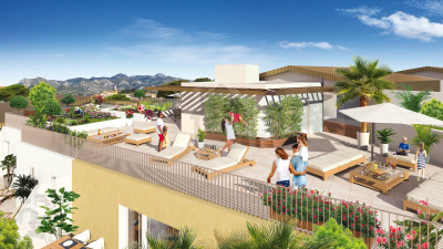 Appartement T2 de 39m² avec terrasse de 8m² et parking à Aub