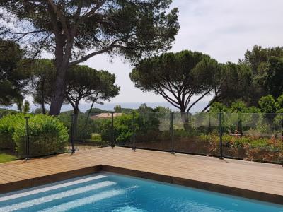 Très belle villa climatisée, vue mer, piscine, 4 chambres