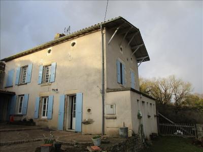 Maison de village cherveux - 5 pièce (s) - 120 m²