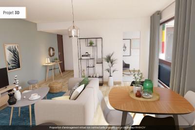 Appartement 2 pièce(s) 49.50 m2