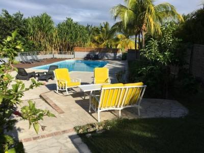 Villa F5 + piscine, vue dégagée