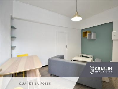 Nantes T2 meublé Quai de la Fosse