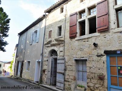 Maison de village montpezat - 4 pièces - 80 m²
