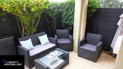 Appartement F3 61.90 m² 1 parking. 1 terrasse et 1 jardin