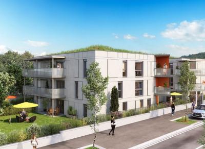 AIX-LES-BAINS, T4 de 80 m² avec terrasse