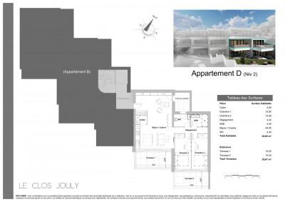 Appartement T3 de 85 m²