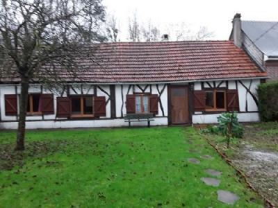 Maison normande située entre Blangy sur Bresle et Foucarmont