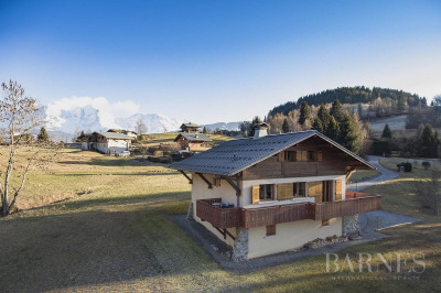 Chalet à restaurer face au Mont Blanc