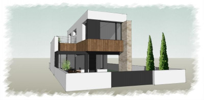 Architect house 3 rooms