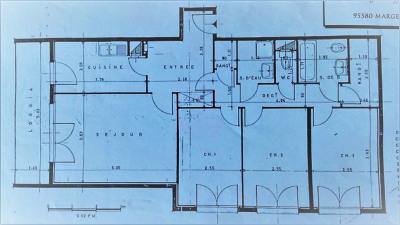 Appartement 4 pièces dans résidence sécurisée