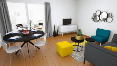 Appartement Saint Nazaire QUARTIER SAUTRON pièce (s) 55 m²