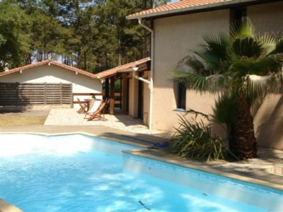 Maison Capbreton 4 chambres avec piscine