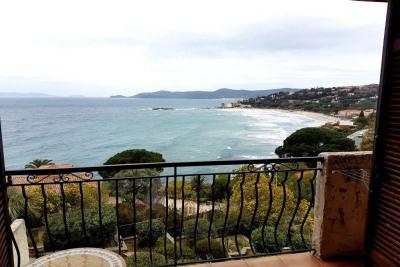 Le Lavandou Saint Clair appartement à vendre avec vue mer et